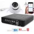 Система видеонаблюдения CИСБ AHD 01-1000-home IR SL