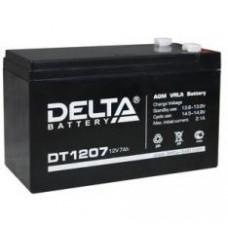 Аккумулятор герметичный свинцово-кислотный 12В 7А/ч