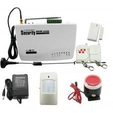 GSM Alarm System - комплект радиоканальной GSM сигнализации