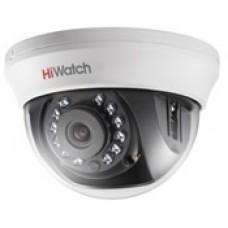 Купольная HD-TVI  DS-T101 HiWatch видеокамера 720p, 2.8 мм с ИК-подсветкой до 20м